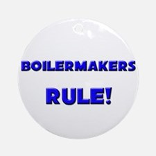 Boilermakers Rule! Ornament (Round)