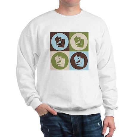 Reading Pop Art Sweatshirt