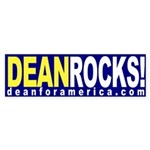Dean Rocks! (bumper sticker)