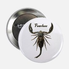 Scorpion-Fearless Button