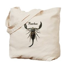 Scorpion-Fearless Tote Bag