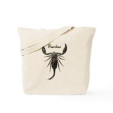 Scorpion-Fearless Tote Bag