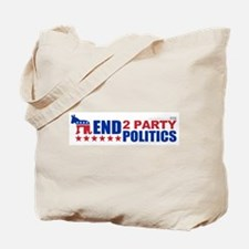 2 Party Politics Tote Bag