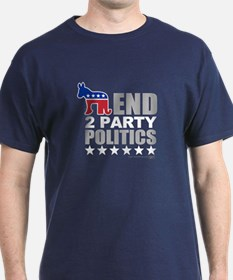 2 Party Politics T-Shirt