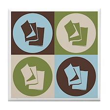 Publishing Pop Art Tile Coaster