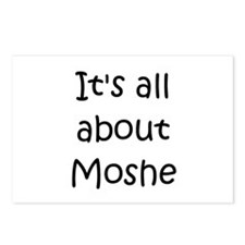 Funny Moshe Postcards (Package of 8)