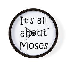 Cute Moses Wall Clock