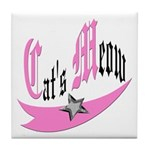 Cat's Meow Tile Coaster
