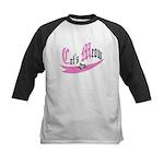 Cat's Meow Kids Baseball Jersey