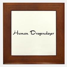 Human Dragonslayer Framed Tile