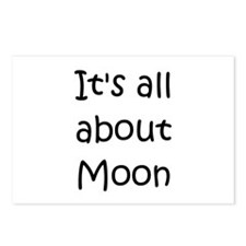 Unique Moon names Postcards (Package of 8)