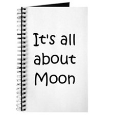 Funny Moon names Journal