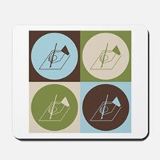 Poetry Pop Art Mousepad