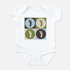 Podiatry Pop Art Infant Bodysuit