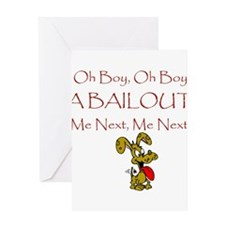 Bailout Greeting Card