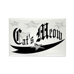 Cat's Meow Rectangle Magnet (10 pack)