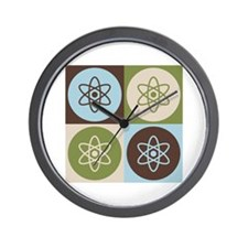 Physics Pop Art Wall Clock