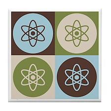 Physics Pop Art Tile Coaster