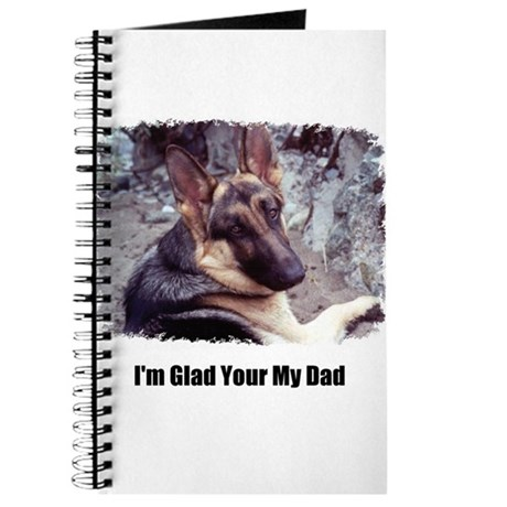 GLAD YOUR MY DAD Journal