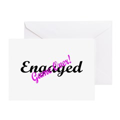 Engaged (Game Over) Greeting Card