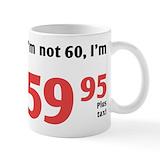 60th birthday ideas Small Mugs (11 oz)