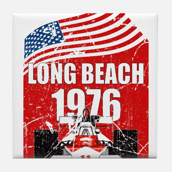 Long Beach 1976 Tile Coaster