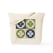 Phlebotomy Pop Art Tote Bag