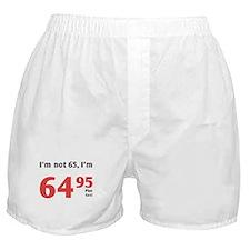 Funny Tax 65th Birthday Boxer Shorts