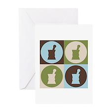 Pharmacology Pop Art Greeting Card