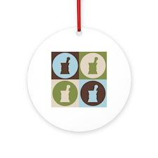Pharmacology Pop Art Ornament (Round)