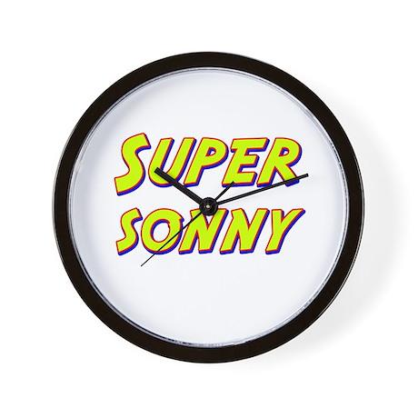 Super sonny Wall Clock