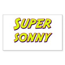 Super sonny Rectangle Decal