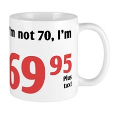Funny Tax 70th Birthday Mug