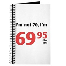 Funny Tax 70th Birthday Journal