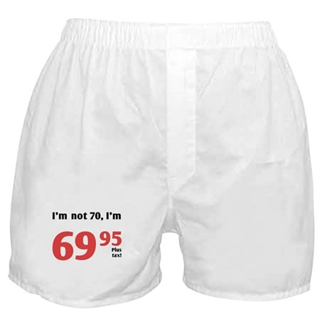 Funny Tax 70th Birthday Boxer Shorts