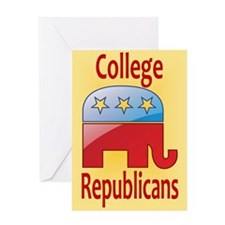 College Republicans Greeting Card