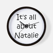 Unique Natalie Wall Clock