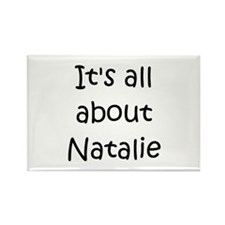 Cute Natalie Rectangle Magnet