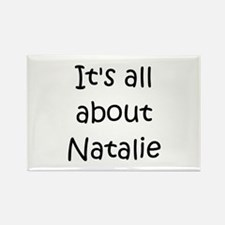 Cute Natalie Rectangle Magnet