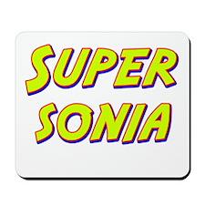 Super sonia Mousepad