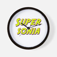 Super sonia Wall Clock