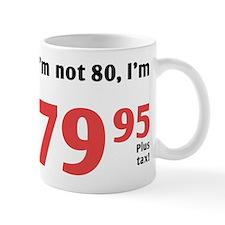 Funny Tax 80th Birthday Mug