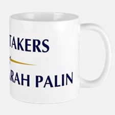 UNDERTAKERS supports Palin Mug
