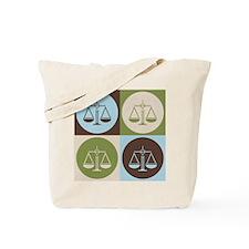 Paralegal Work Pop Art Tote Bag