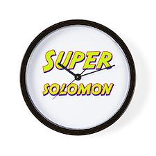 Super solomon Wall Clock