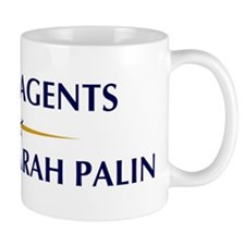 TRAVEL AGENTS supports Palin Mug
