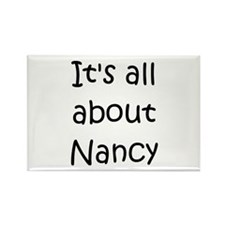 Cute Nancy Rectangle Magnet
