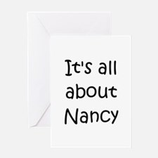 Cute Nancy Greeting Card