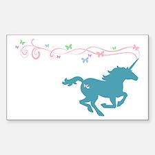 Unicorn Rectangle Decal