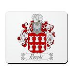 Rocchi Family Crest Mousepad
